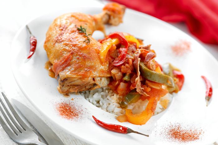 Recette de poulet basquaise au chorizo basque !