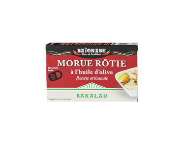 Morue rôtie à l'huile d'olive