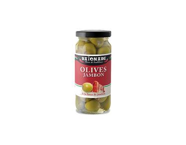 Olives au jambon