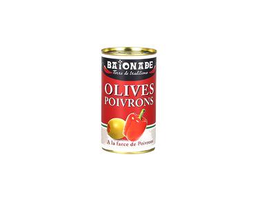Olives aux poivrons