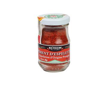 Le piment d'Espelette en poudre AOP