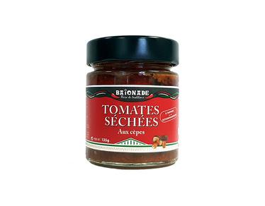 Tomates séchées aux cèpes