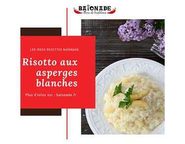 Recette : risotto aux asperges blanches