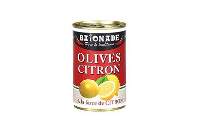 Olives au citron