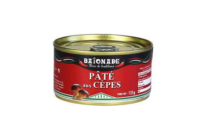 Le pâté aux cèpes