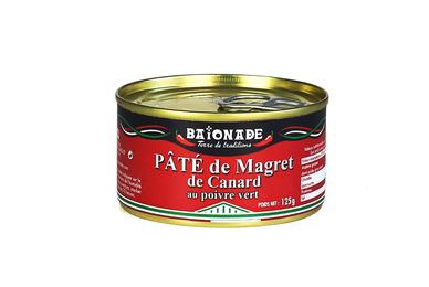 Le pâté de magret de canard au poivre vert