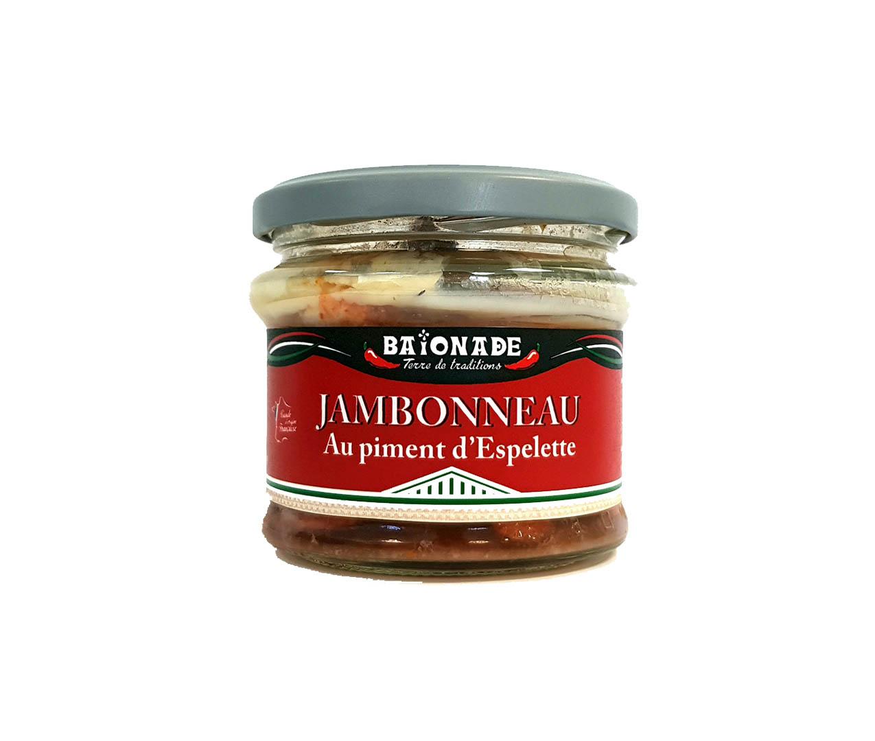 Jambonneau au piment d'Espelette Baïonade