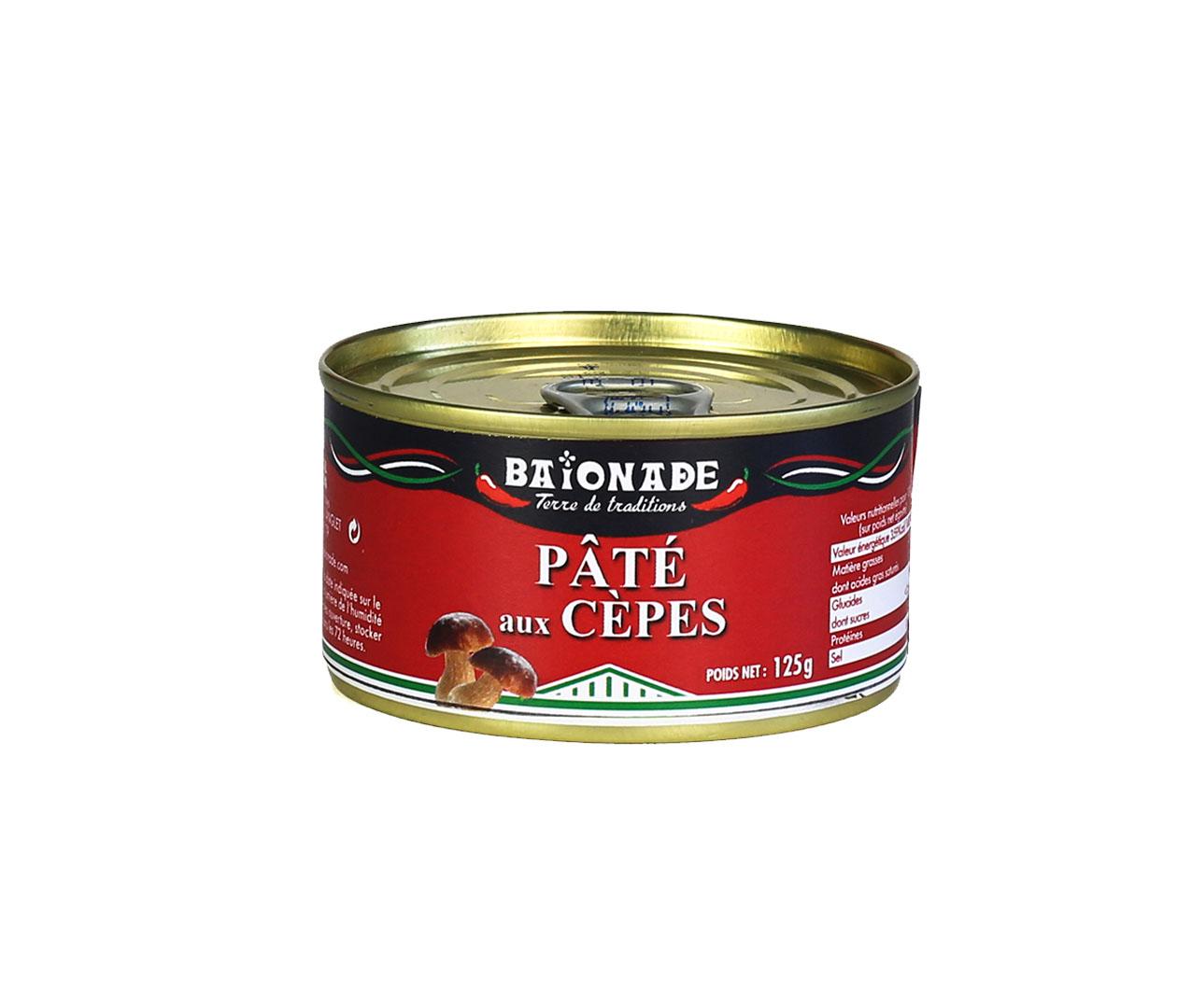 Pâté aux cèpes Baïonade