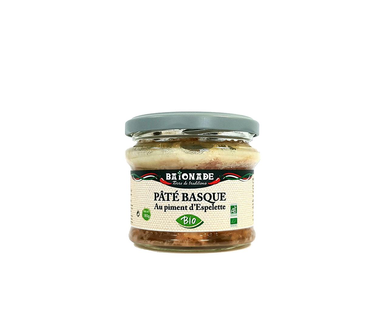 Pâté basque au piment d'Espelette Baïonade