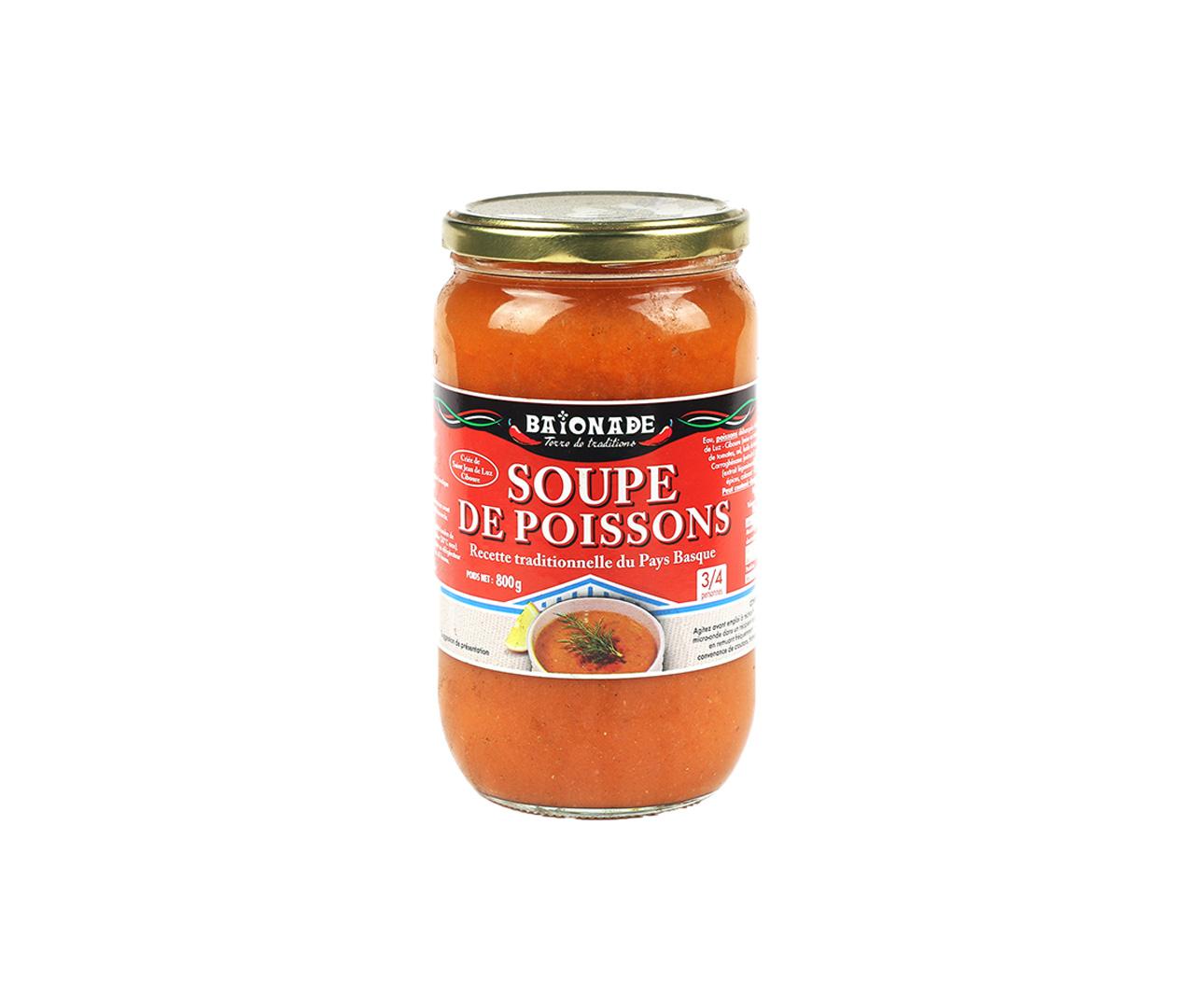 Soupe de poissons Baïonade