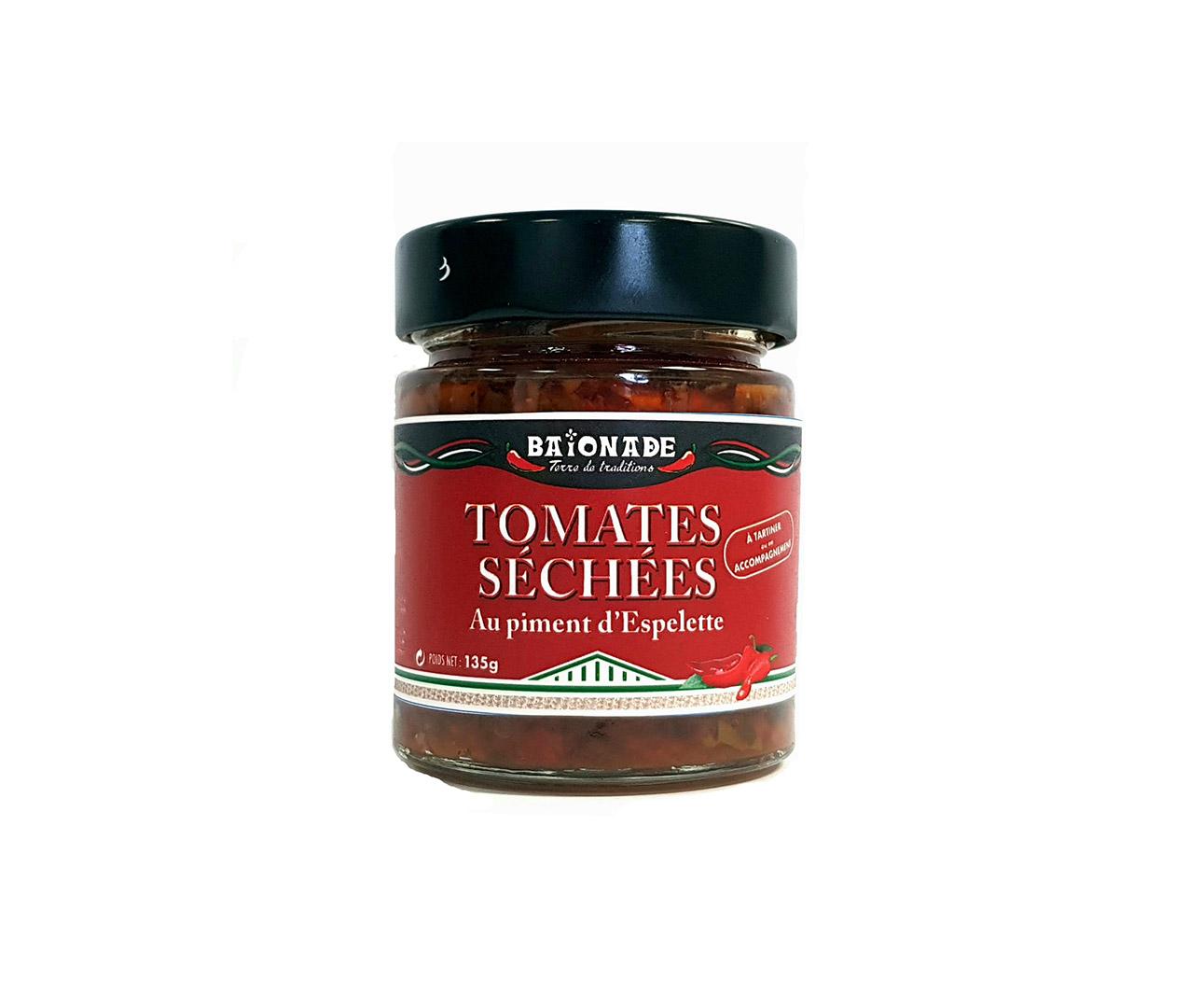 Tomates séchées au piment d'Espelette Baïonade