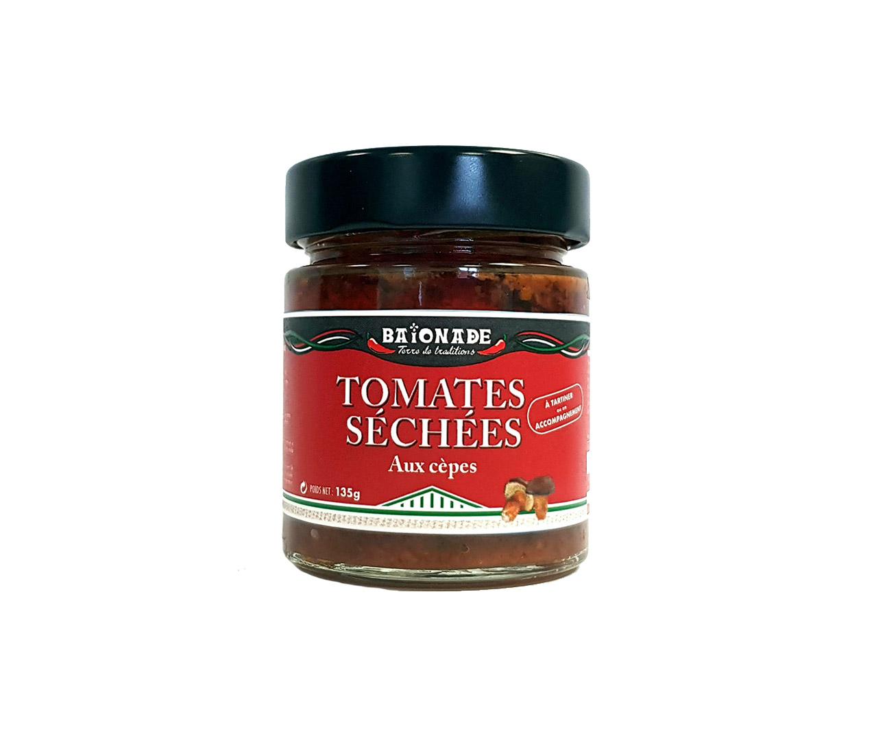 Tomates séchées aux cèpes Baïonade